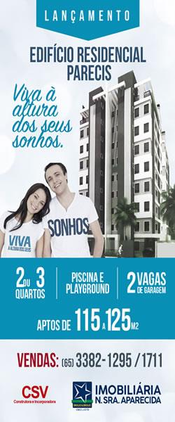 Banner Imobiliária Nossa Senhora Aparecida PG