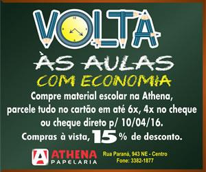 Banner Volta Aulas Athena 2016