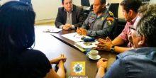 Governo Municipal e Estadual se reúnem para melhorias na segurança