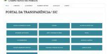 Portal da Transparência da Câmara de Campo Novo é um dos melhores de MT