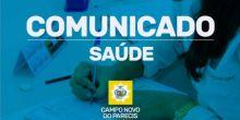 Por capacitação de servidores, algumas unidades de saúde não atenderão população de Campo Novo do Parecis nesta sexta