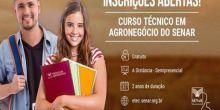 SENAR abre inscrições para Curso Técnico de Agronegócio; 50 vagas para Campo Novo do Parecis