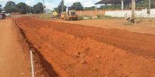 Retomada obras de pavimentação no Polo Empresarial Parecis
