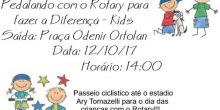 Passeio ciclístico dará início às festividades do Dia das Crianças em Campo Novo do Parecis