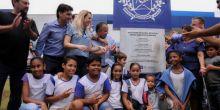 Pedro Taques inaugura escola estadual em Campo Novo do Parecis