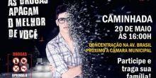 """Movimento CNP pela Vida: Caminhada e premiação da campanha """"Drogas, aprenda a dizer não"""" acontece neste sábado"""