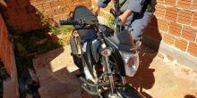 Após denúncia, PM localiza moto roubada em Campo Novo do Parecis