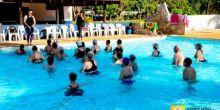 Grupo da Melhor Idade recebe aulas gratuitas de hidroginástica em Campo Novo do Parecis