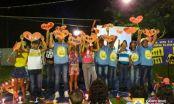 Crianças realizam apresentações artísticas após reunião no CRAS Boa Esperança