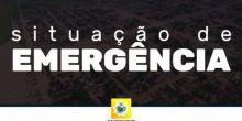 Prefeito decreta situação de emergência em Campo Novo do Parecis