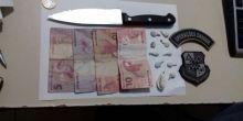 PM prende em Campo Novo homem suspeito de tráfico de drogas