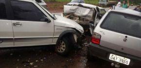 Grave acidente mata quatro da mesma família e empresário em São José dos Quatro Marcos