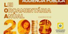 Prefeitura realizará Audiência Pública para apresentação da Lei Orçamentária Anual