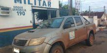 Caminhonete roubada em Campo Novo do Parecis é recuperada em Mirassol