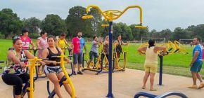 Através do Rotary, Campo Novo do Pareci será contemplada com academia ao ar livre