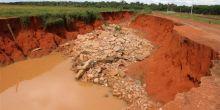 Situação dos gabiões da Sucupira se complicam mais com chuvas