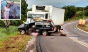 Proprietários de funerária morrem em acidente em Ribeirão Cascalheira