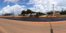 Cruzamento no bairro Jardim das Palmeiras deverá receber contorno nos moldes de Tangará