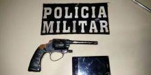 PM prende dois após assaltarem jovens à mão armada em Campo Novo