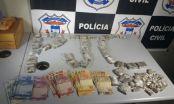 Operação prende casal por tráfico e prende foragidos em Tangará da Serra