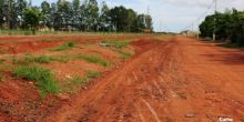 Prefeitura de Campo Novo realiza limpeza de rua do Bairro Boa Esperança
