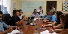 Equipe da Secretaria de Infraestrutura de Campo Novo se reúne com vereadores