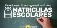 Educação define datas de matrículas e rematrículas na rede de ensino de Campo Novo do Parecis