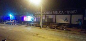 Agentes controlam princípio de rebelião em cadeia de Campo Novo do Parecis