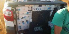 GARRA apreende carga de cigarro contrabandeado em Campo Novo do Parecis
