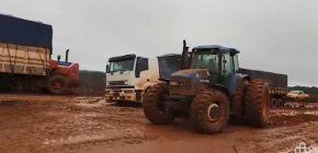 Produtores enfrentam dificuldades para escoar produção em Campo Novo do Parecis